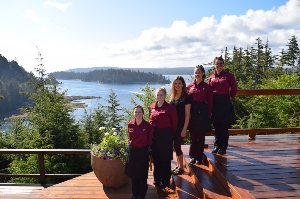 * A collection of our all star staff enjoying some time in the sun: Lisa, Kalli, Sylvia, Alison and Jessica.